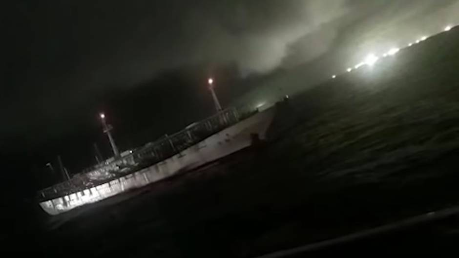 Argentinische Küstenwache schießt auf illegale chinesische Fischer