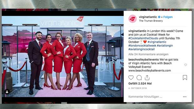 Virgin Atlantic Bordpersonal