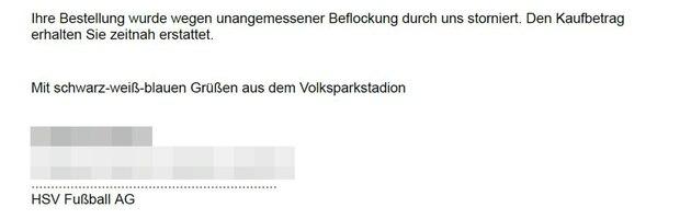 HSV-Trikot