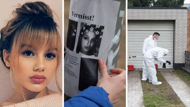 Die vermisste Rebecca aus Berlin, ein Handzettel, Ermittler der Polizei