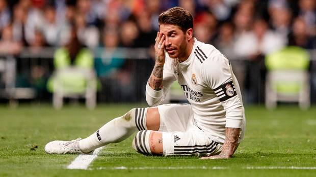 Sergio Ramos, wollte sich eine clevere gelbe Karte abholen. Das ging gehörig schief.