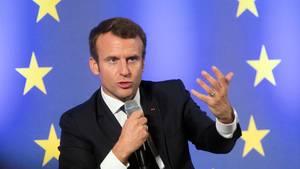 Emmanuel Macron - Pressestimmen zu seinem Europa-Appell