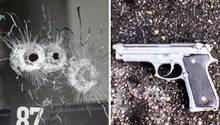 Mit der Beretta 92 seines Vaters erschoss Tim Kretschmer 15 Menschen