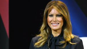 Melania plaudert über ihr Leben im Weißen Haus – und verrät das Lieblingsessen der Trumps