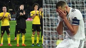 Champions League: BVB verpasst Wunder – Real Madrid blamiert sich bis auf die Knochen
