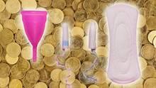 Mehrwertsteuer: Periodenprodukte gehen ziemlich ins Geld