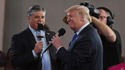 Donald Trump und Sean Hannity