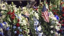 Beerdigung eines Polizisten