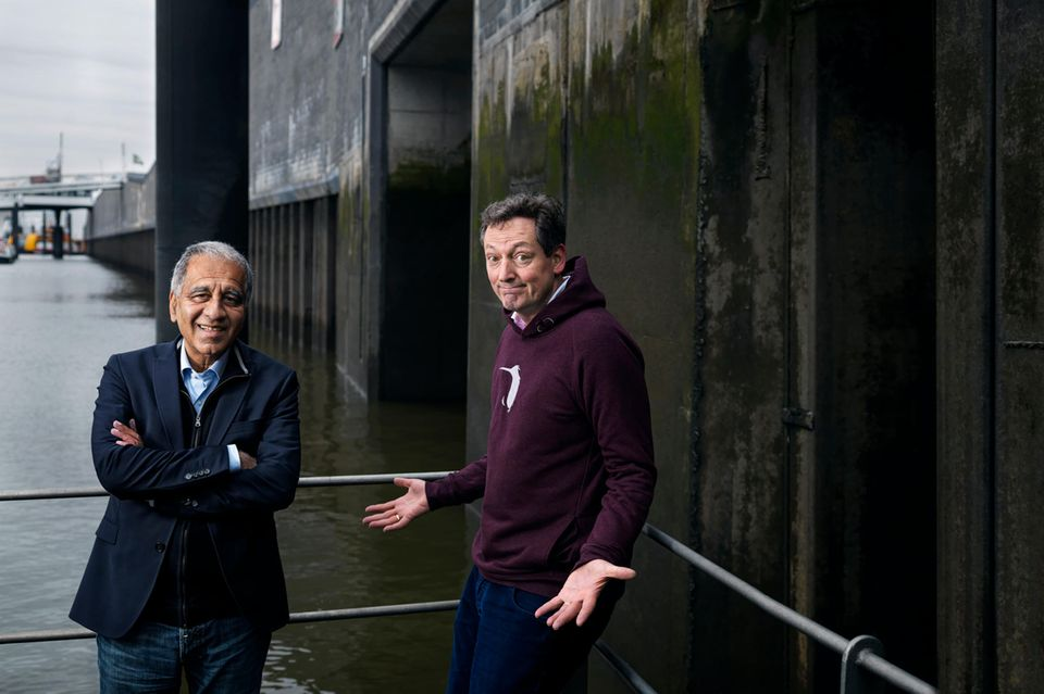 Klimaforscher Mojib Latif und Eckart von Hirschhausen