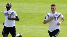Nationalmannschaft - Antonio Rüdiger und Niklas Süle
