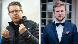 Der Von-Floerke-Gründer David Schirrmacher (re.) und Investor Frank Thelen liefern sich eine öffentliche Schlammschlacht.