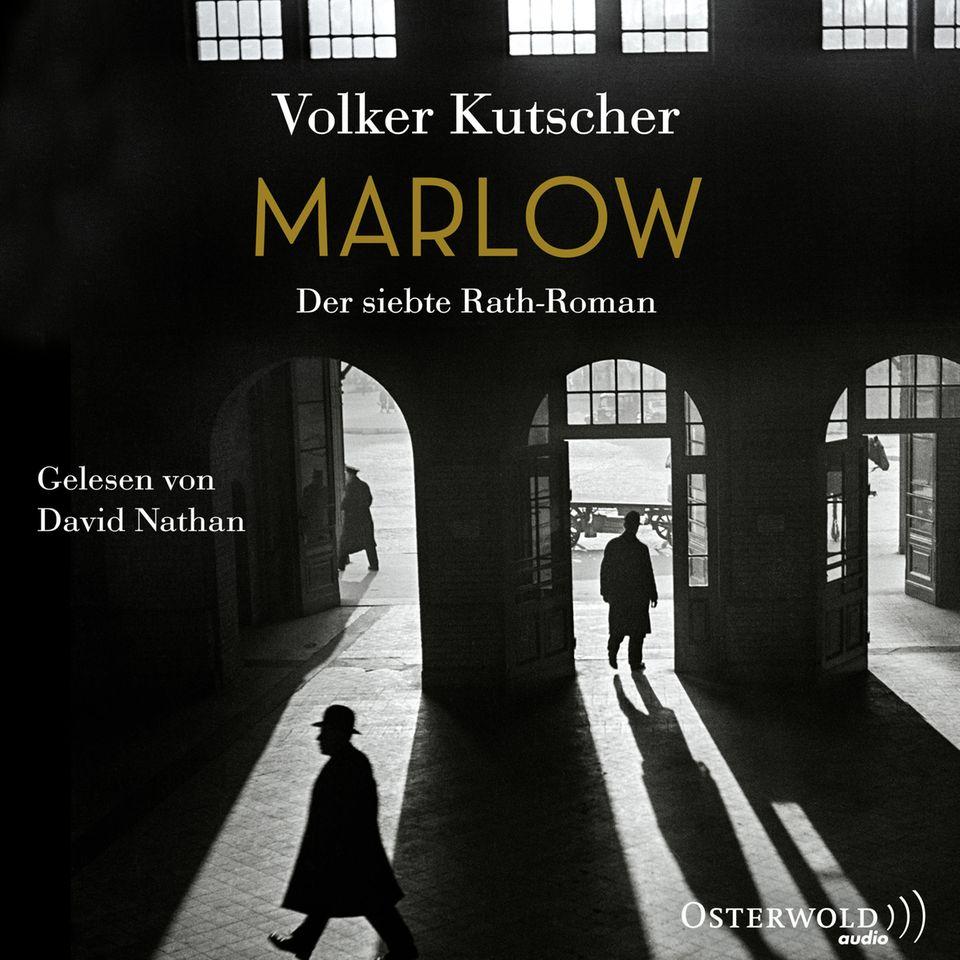 """""""Marlow"""" ist Volker Kutschers neuester Roman. Hier geht es zum Link zu Audible."""
