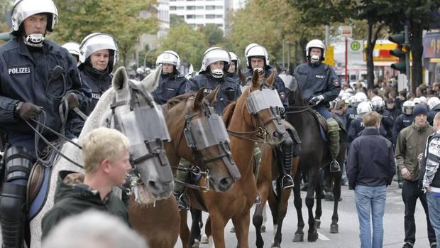 Hamburg Stadtderby Sicherheit