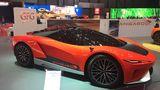 GFG-Style Kangaroo – Konzept des Designhauses Giugiaro für einen Supersportwagen mit E-Antrieb.