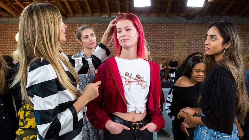 Germanys Next Topmodel Unterbrochen