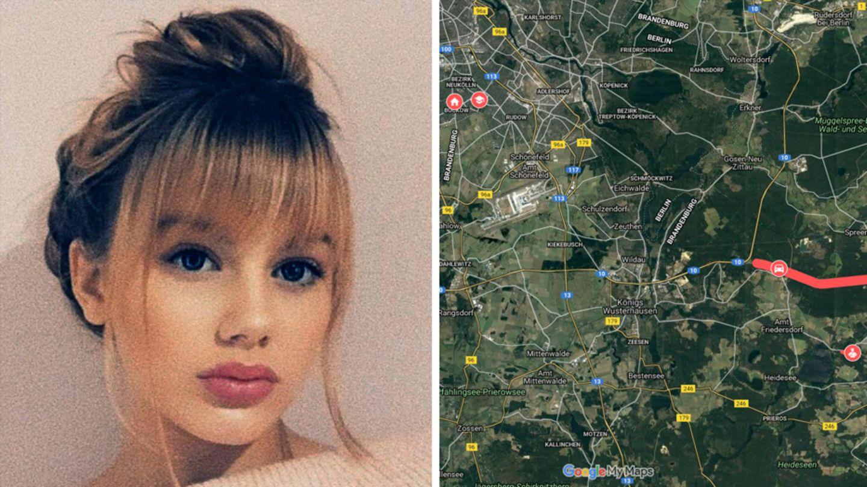 Reusch polizei rebecca berlin twitter Vermisste Rebecca
