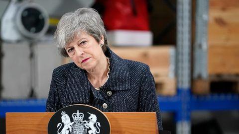 Premierministerin Theresa May - vielleicht auch gar kein Brexit