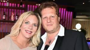 Daniela Büchner mit Ehemann Jens, der im November an Lungenkrebs verstarb