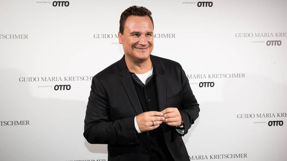 Guido Maria Kretschmer auf dem roten Teppich