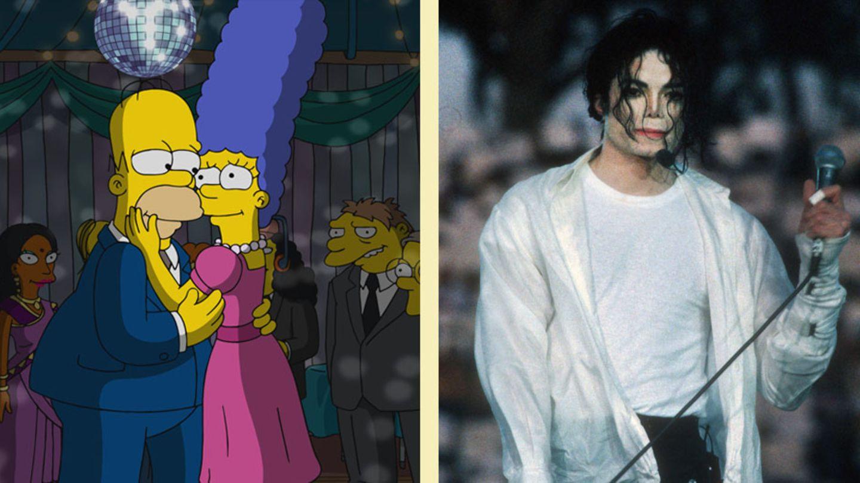Michael Jackson Simpsons
