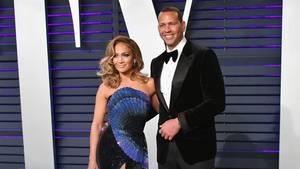 Jennifer Lopez und Alex Rodriguez auf dem roten Teppich