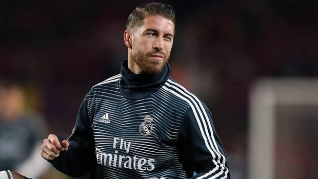 Sergio Ramos geht bei Real Madrid voran