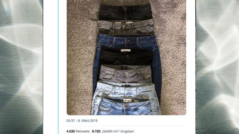 Jeans Einkauf Kleidergrößen