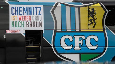 Chemnitzer FC - weder grau noch braun