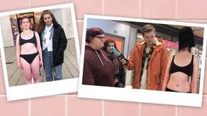 NEON-Redakteurin fragt Menschen auf der Straße