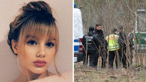 Vermisste Rebecca aus Berlin, Polizeiaktion in Brandenburg