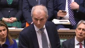 David Lidington, Vize-Regierungschef, spricht im Parlament über den Brexit und die Änderungen am Abkommen mit der EU