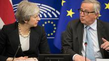 May Juncker Brexit
