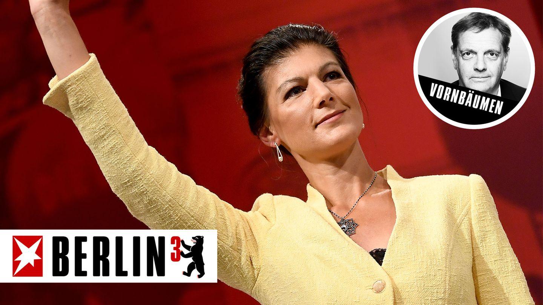 Wenn die Linke in Deutschland ein Gesicht hat, dann ist es das von Sahra Wagenknecht