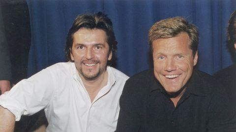 Dieter Bohlen und Thomas Anders bildeten das Duo Modern Talking