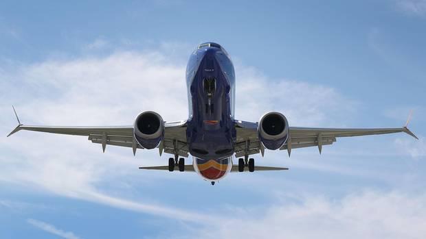 Boeing 737 Max der US-amerikanischen Southwest Airlines