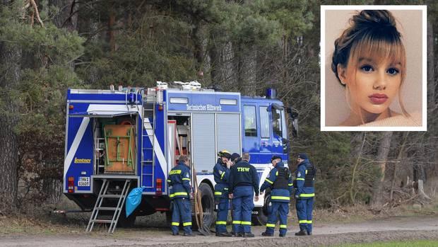 Dienstag, 12. Februar: Polizei weitet unter Mithilfe des Technischen Hilfswerks die Suche nach Rebeccas Leichnam auf den See aus, der an das bereits durchsuchte Waldstück grenzt.
