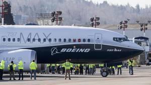 Eine Boeing 737 MAX