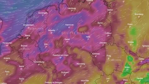 Wetter - Deutschland - Sturmtief Franz - Tief Gebhard