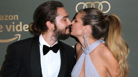 Heidi Klum und Tom Kaulitz küssen sich