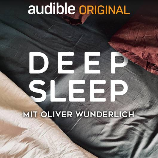 """Einschlafen leicht gemacht mit """"Deep Sleep"""" von Oliver Wunderlich: Wer schlecht schläft, ist nicht fit. Das ist klar. Das will Oliver Wunderlich in seinem Podcast ändern. Vier Wochen lang hört man jeden Abend eine Folge. So lernt man am Abend loszulassen, sich zu entspannen und so besser zu schlafen. Hier geht's zum Download."""
