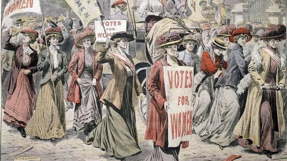 Suffragetten in London