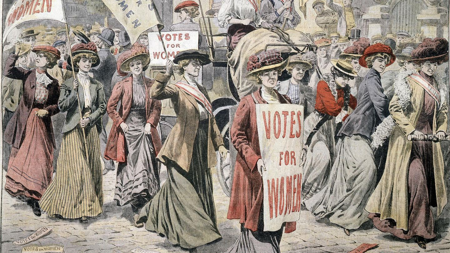 Suffragetten in London