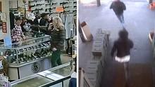Überfall auf Waffenladen