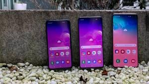 Die drei neuen Samsung-Smartphones: Samsung Galaxy S10e, S10 und S10 Plus