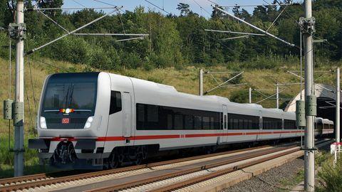 Deutsche Bahn stellt neuen Fernzug ECx vor