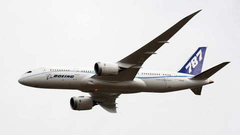 """Eine Boeing 787 """"Dreamliner"""""""