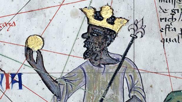 """Mansa Musa I. von Mali seireicher gewesen """"als jemand es beschreiben könnte"""", meint der HistorikerJacob Davidson"""