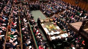 Das britische Parlament stimmt gegen einen Brexit ohne Abkommen