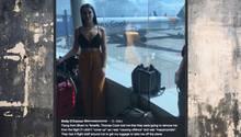 Thomas Cooke: Wegen dieses Outfits sollte eine Frau aus dem Flieger geworfen werden