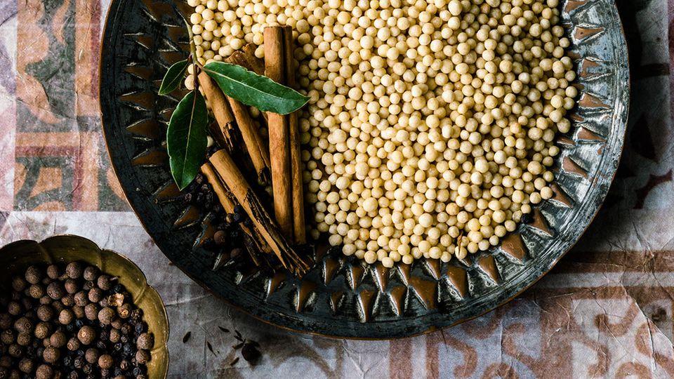 Perl-Couscous Moghrabieh